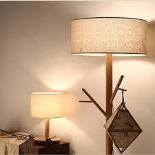 Floor Lamp Coat Rack OAKLIGHTING Modern Tree Branch Wood Floor Lamps Lights Wooden Coat 49