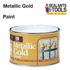 151 metallic gold paint 180ml tin dy018aa