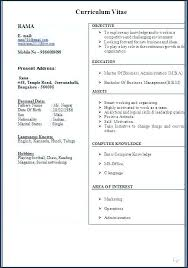 Latest Resume Format Download Free Resume Format Downloads Free ...