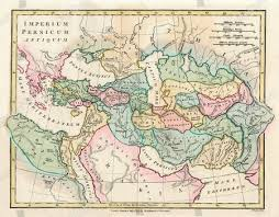 Places Maps Chart Key Persians Greece Eastern
