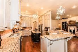 giallo ornamental granite with white cabinets