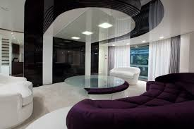 Modern Black And White Living Room Modern Black And White Living Room With Brown Accent Interior