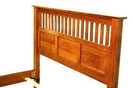 mission style bed frame king size headboard craftsman bedroom set