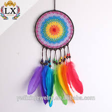 Colored Dream Catchers Impressive Dlx32 Crochet Dream Catcher 32cm Wholesale Factory 32% Handmade