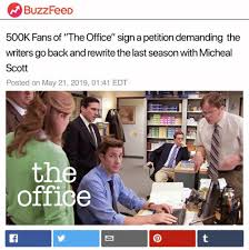 Petition Office Buzzfeed 500k Fans Of The Office Sign A Petition Demanding