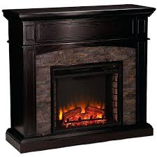 stone electric fireplace ebony faux stone electric fireplace a liked on featuring home stone electric fireplace stone electric fireplace