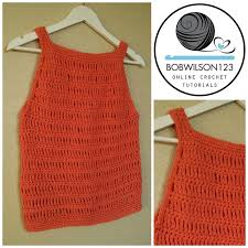 Crochet Tank Top Pattern Adorable Learn To Crochet With Clare From Bobwilson48 Learn Howto Crochet