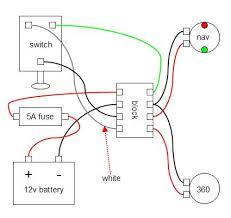 boat light wiring diagram & jon boat light wiring diagram marine wiring diagram 12 volt at Simple Boat Wiring Diagram