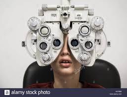 Eye Chart Machine Eye Test Stock Photos Eye Test Stock Images Alamy