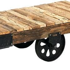 factory cart coffee table custom reion industrial factory cart coffee table by mortise tenon custom furniture