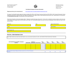 5 Cost Benefit Analysis Templates Word Excel Templates