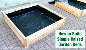 building a raised planter box vegetable planter box attractive raised planter boxes for vegetables how to