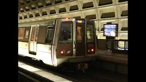 Washington Metrorail HD 60fps: Blue & Orange Line Trains @ Farragut West  (5/19/18) - YouTube