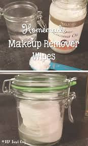 homemade makeup remover wipes save you a lot of money and are also made with great s like coconut oil and baby shoo diyjustcuz