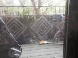safety decals for sliding glass doors