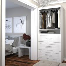 Closet Tower With Drawers Homey White Closet Tower With Drawers Roselawnlutheran