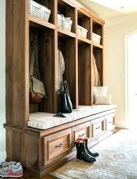 mud room lockers rustic wood mudroom with drawers built in plans for storage units desig post wood lockers for mudroom storage units