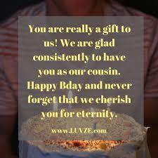 Happy Birthday Cousin Quotes Fascinating Happy Birthday Cousin Quotes Wishes Sayings Messages