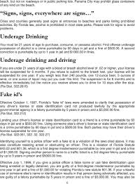 Traffic Survival Spring Related Florida Alcohol Break Guide Law Tq7WI6w