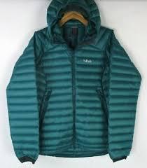 Details About Rab Womens Microlight Summit Jacket Qda 89 Atlantis Size Extra Large