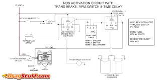 nitrous system wiring diagrams dragstuff single stage nos system transbrake interrupt relay msd window switch and dynotune delay timer