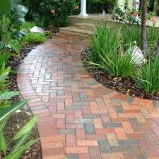 Brick Walkway Patterns New Brick Walkway Designs Walkway Design Curved Brick Walkway Designs