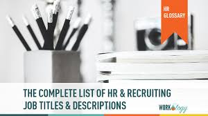 Executive Recruiters Job Description The Complete List Of Hr And Recruiting Job Titles Salaries Workology