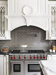 Subway Tile Backsplash Patterns Custom 48 Beautiful Kitchen Backsplash Ideas Hative