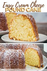 Easy Cream Cheese Pound Cake Doctored Cake Mix Recipe I Scream