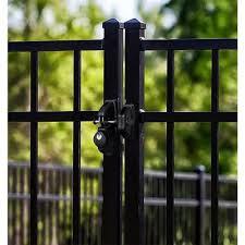 metal gate latches locks gate