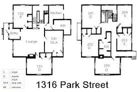 Spanish House   Grinnell CollegeSpanish House Floorplan
