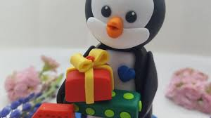 Birthday Penguin Cake Topper 1st Birthday Cake Topper Baby Boy