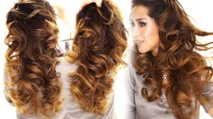 Pin Curl Hair Style 2 ways to lazy heatless curls using a bun overnight waves 5161 by stevesalt.us