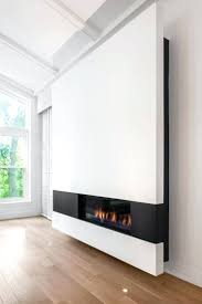Full Image for Contemporary Wall Mount 34 Electric Fireplace By Solaire Hung  Mounted Fireplaces Modern City ...