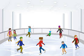 Image result for ice skating kids drawing banner
