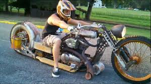 rat rod bike redneck limo youtube