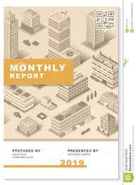 Urban Design Proposal Report Business Proposal Newsletter Report Modern Design Vector