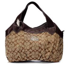 Cheap Coach In Signature Medium Coffee Hobo Bby Sale kZ4vD