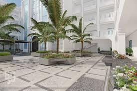 palm tree landscape design ideas modern