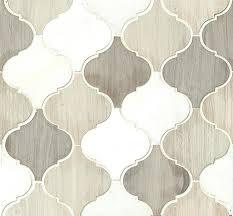 white lantern tile arabesque blend lantern shape stone mosaic tile textured finish white lantern tile canada