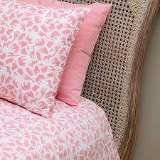 safari pink single and cot duvet cover