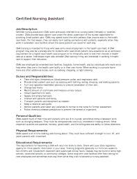Sample Cna Resume Resume Sample Sample Geriatric Nursing Assistant ...