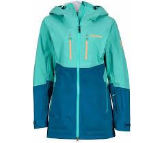 marmot sublime women s skis jacket blue