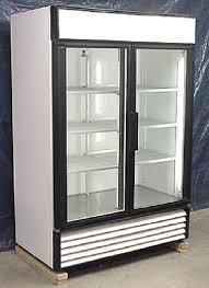 used two glass door cooler used two glass door cooler