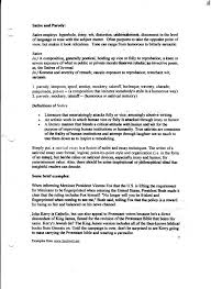 satire essay examples essay satirical essay template example of  how to write an essay on satire algernon crucible essay how to write a good satirical