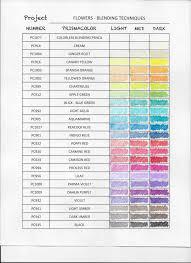 Faber Castell Polychromos Color Chart Color Charts Pencilstash