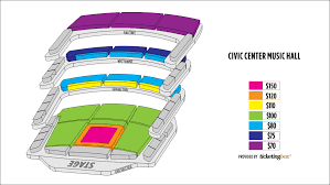 Oklahoma City Jones Hall For The Performing Arts Seating Chart