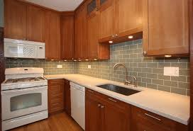Interesting Kitchens With Wood Cabinets And White Appliances Cherry Kitchen Remodel Contemporary Novel For Models Design
