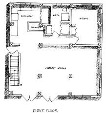 Salt Box House Plan Has Clerestory Windows For Passive Solar HeatingYou can make your first floor study into another bedroom if you have a larger family  or if you    re a couple who have decided it    s time to enjoy living on a