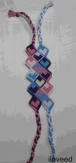 Heart Friendship Bracelet Pattern Magnificent Design Ideas